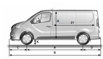manuel du conducteur renault trafic opel vivaro nissan primastar dimensions. Black Bedroom Furniture Sets. Home Design Ideas